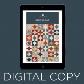 Digital Download - Old Mill Path Quilt Pattern by Missouri Star