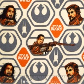Star Wars: Rogue One - Rebel Polygon Multi Flannel Yardage