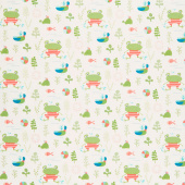 Ready Set Splash - Main Cream Yardage
