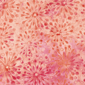 Tonga Batiks - Poppy Sea Anemone Flamingo Yardage