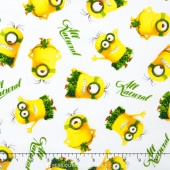 Minions - All Natural Minion Toss White Yardage