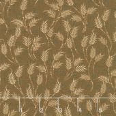 October Morning - Waving Wheat Brown Yardage