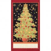 Winter's Grandeur 7 - Holiday Metallic Panel