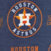 MLB Fleece - Houston Astros Navy Yardage
