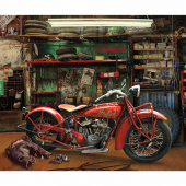 Indian Motorcycle - Scout Digitally Printed Panel