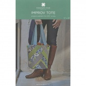 Improv Tote Pattern by MSQC