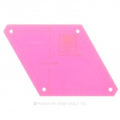 Perfect Cut 60 Diamond Template 2.5""
