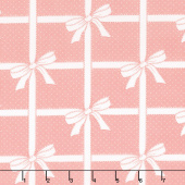 Vintage Holiday - Wrapped Up Pink Yardage