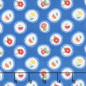 Hand Picked - Posie Blue Yardage