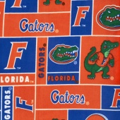 Fleece College - Florida Gators Orange Yardage