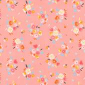 Kenzie - Baby Bouquets Rose Yardage