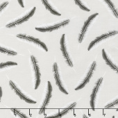 Chalk and Charcoal - Feathers Stone Yardage