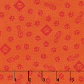 Cub Scouts - Cub Scouts Paws Orange Yardage