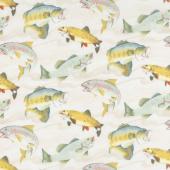 Gone Fishin' - Fish Cream Yardage