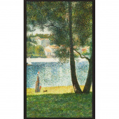 Seurat - Artist Series Lake Nature Digitally Printed Panel