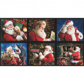 Jolly Saint Nick - Santa Holiday Digitally Printed Panel