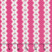 Guest Room - Stripe Raspberry Yardage