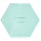 """Sue Daley Hexagon 1 1/2"""" Template Only"""