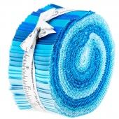The Colors Of Moda Blue Jelly Roll