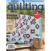 Better Homes & Gardens American Patchwork & Quilting August 2019