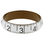 Missouri Star Measuring Tape Bracelet - Medium White