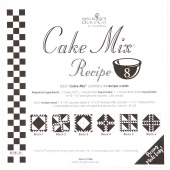 Cake Mix Recipe 8 by Miss Rosie's Quilt Co