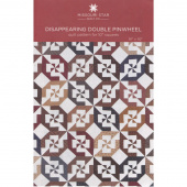 Disappearing Double Pinwheel Quilt Pattern by Missouri Star