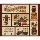 Buttermilk Basin's Pumpkin Farm - Buttermilk Basin's Pumpkin Farm Cream Panel