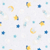 All Our Stars - Sleepy Time Toss Gray Yardage