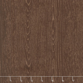 The Great Outdoors - Outdoors Wood Grain Brown Yardage