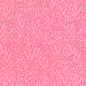 Sending Love - Hearts Pink Yardage
