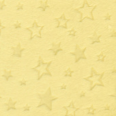 "Cuddle Embossed Star - Banana 60"" Minky Yardage"
