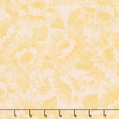 Shades of the Season 10 - Sunflower Toile Yellow Yardage