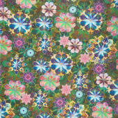 Venice - Flowers Garden Digitally Printed Yardage