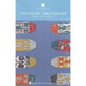 Mini House Table Runner Pattern by Missouri Star