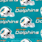 NFL - Miami Dolphins Cotton Yardage