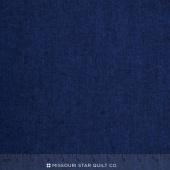 Shetland Flannel - Herringbone Navy Yardage