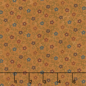 Milestones - Hope Blooms Gold Yardage