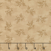 Collection for a Cause - Heritage 10th Anniversary Sprigs Tonal Tan Yardage