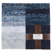 Artisan Batiks - Natural Formations 3 Rain Ten Squares