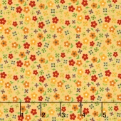 Gingham Girls - Gingham Blossom Yellow Yardage