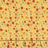 Gingham Girls - Gingham Blossom Yellow Yardage