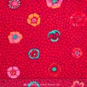 Kaffe Collective - Warm 2016 Classics Guinea Flower Red Yardage