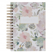 Lovely Garden Floral Notes Journal