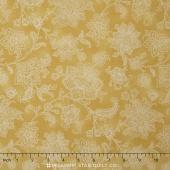 La Provence - Flowers Yellow Yardage