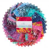 Blossom Batiks Jewel Tones Charm Pack