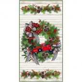Toy Truck Christmas Wreath Kit