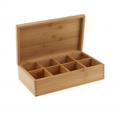 Bamboo 8 Compartment Box