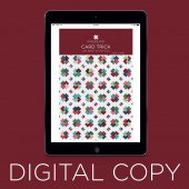 Digital Download - The Card Trick Quilt Pattern by MSQC
