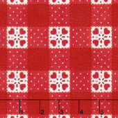 Sugar Berry - Goody Basket Radiant Cherry with Red Glitter Yardage